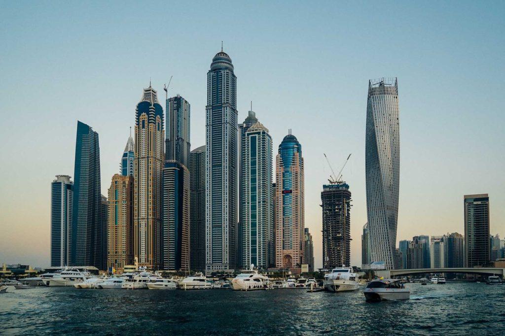 Dubaï, quartier de la Marina