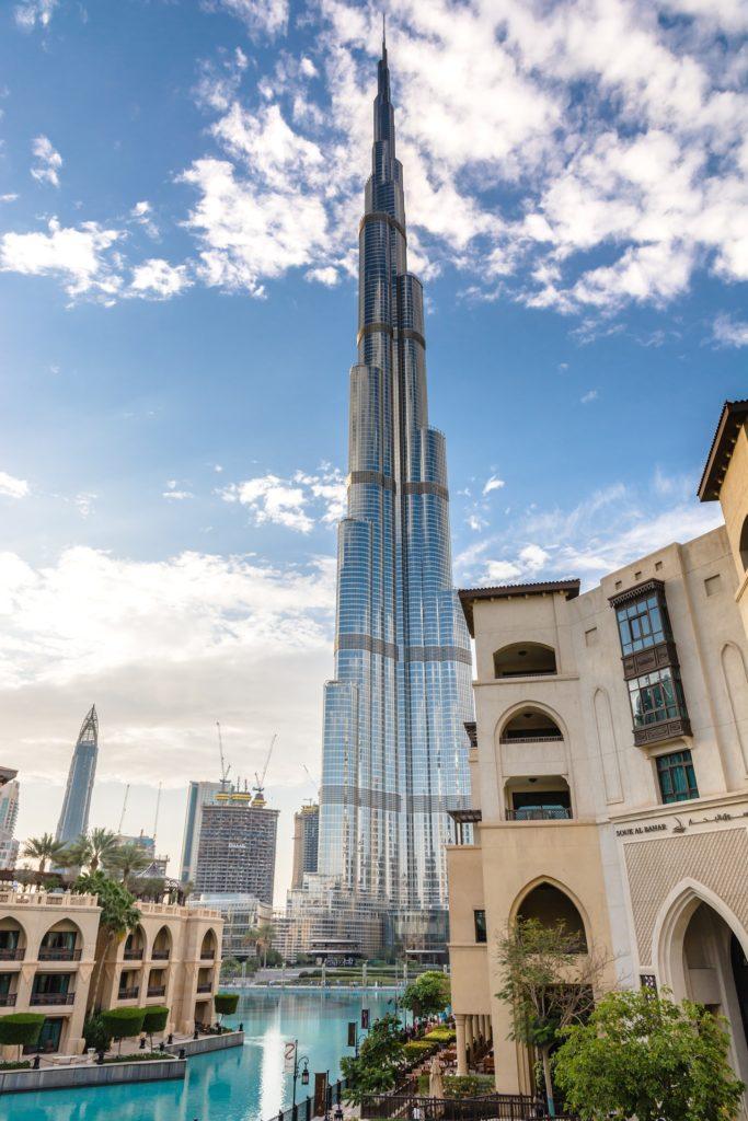 Burj Khalifa à Downtown Dubai