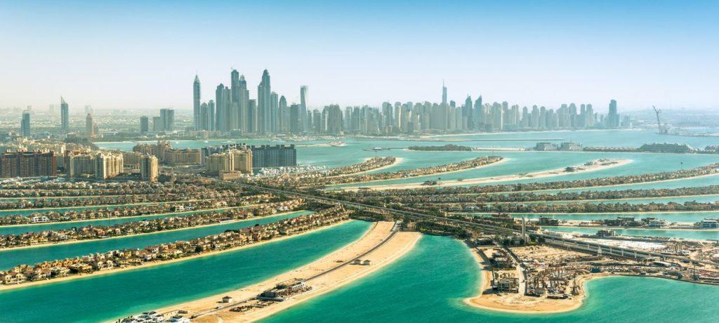 Dubaï, quartier de Palm Jumeirah