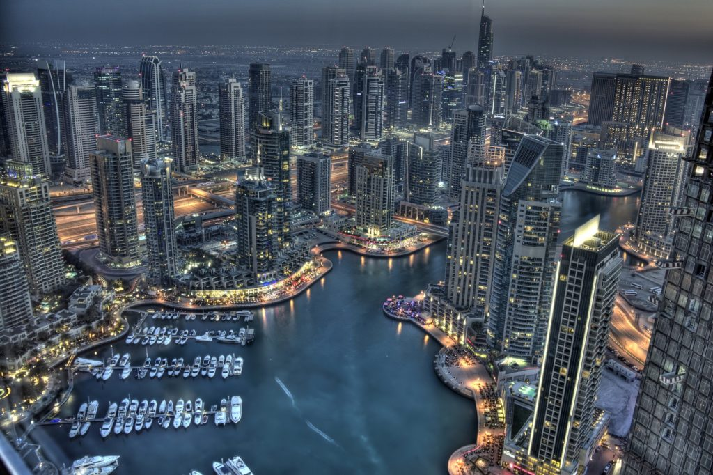 Jumeirah Lake Tower et Marina